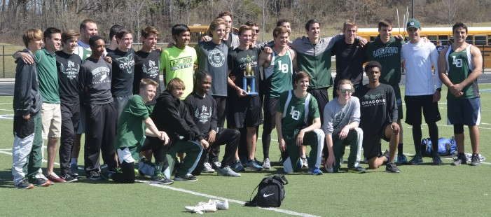 Boys' track team wins Brandon Invitational