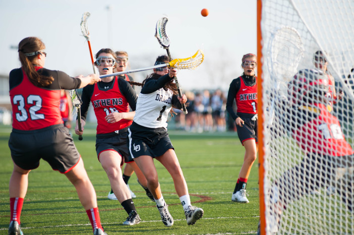 Dragon's girls' lacrosse team wins OAA White championship