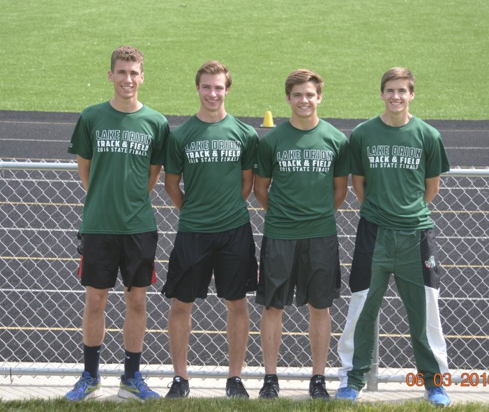 Dragons competed at the state Division 1 championships