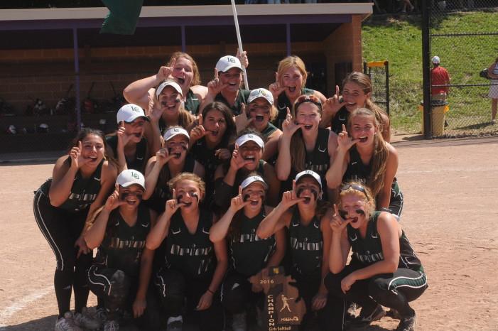 Varsity softball team wins regional title