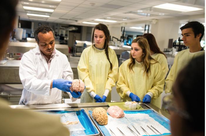 Medical camp inspires high schoolers