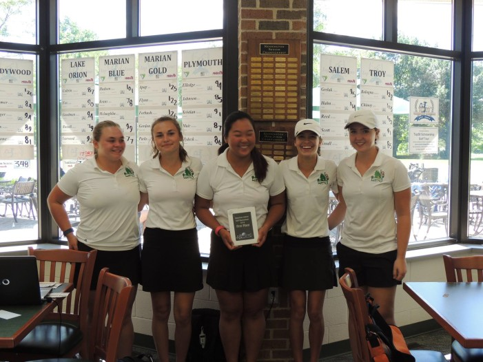 Lady Dragons continue mastery of fairways and greens