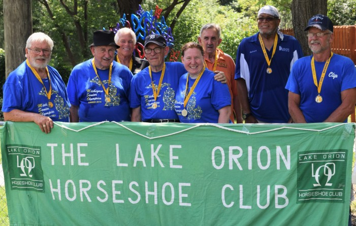 Orion residents compete in Senior Olympics