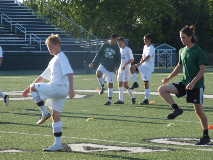 Varsity Dragons continue to make progress on the soccer field