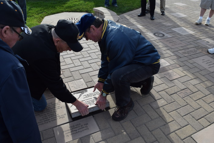 Veterans receive commemorative tribute at Lake Orion Memorial