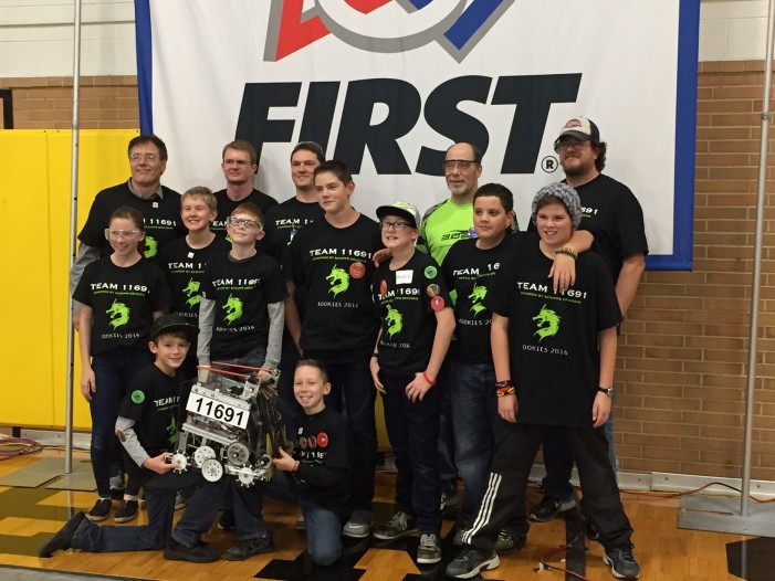 Scripps Middle School Robotics Team makes state championship