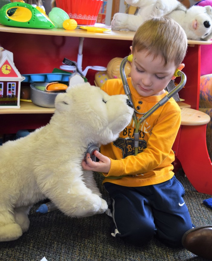 'Toyology' clinic gives beloved stuffed animals the 'all clear'