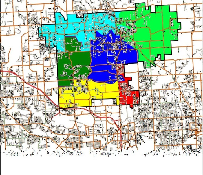 Lake Orion releases elementary boundaries