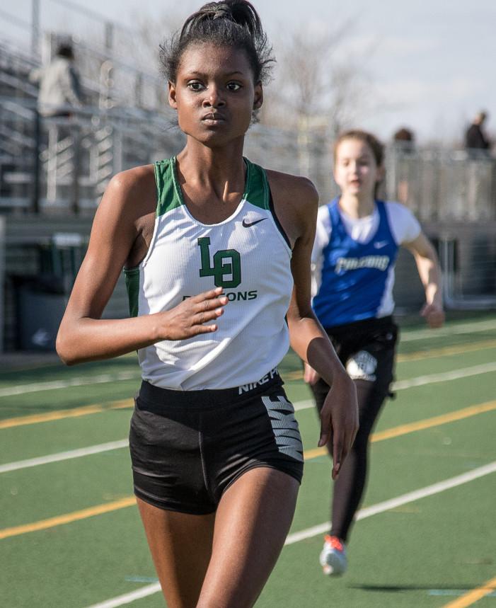 Girls track wins first meet over Rochester