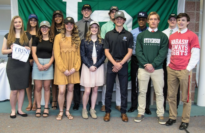 13 LOHS students sign to play college sports