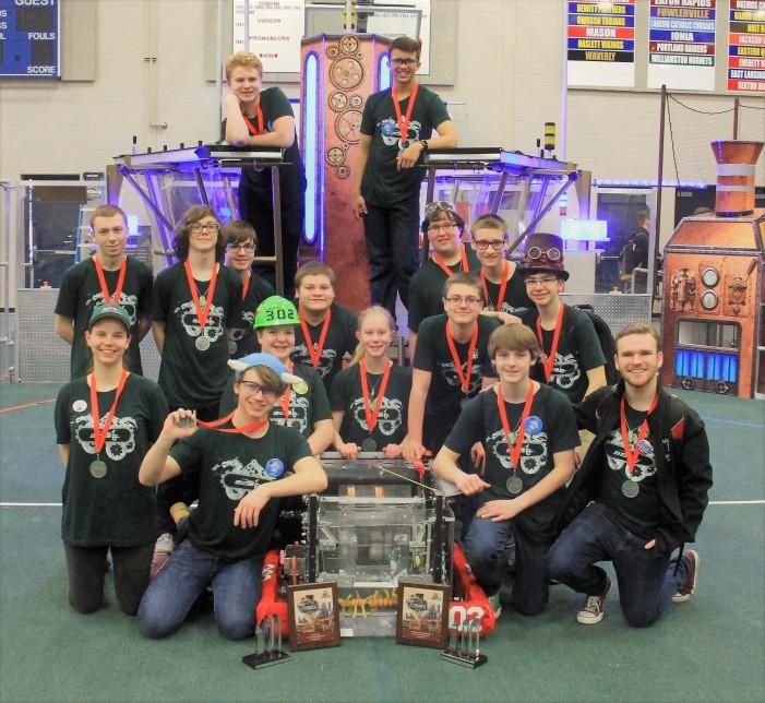 Lake Orion Robotics Team 302 qualifies for state tournament