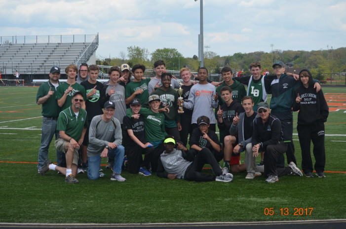 LO Mens Track & Field OAA Red League champs for the sixth year in a row