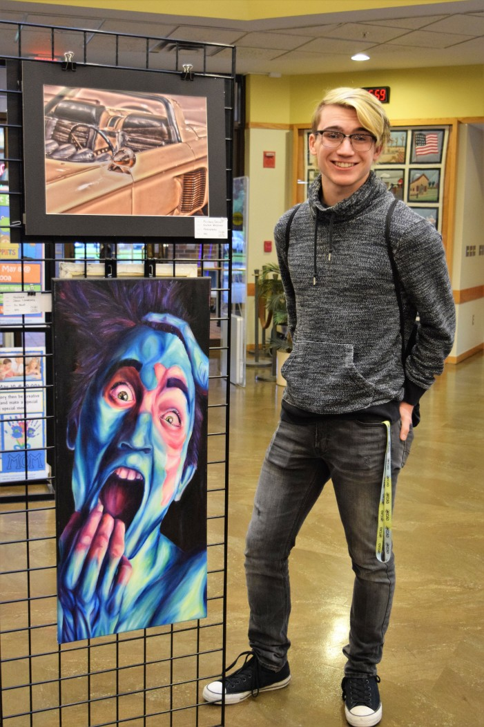 Student artists recognized at 19th annual Joan Brace Scholarship awards ceremony