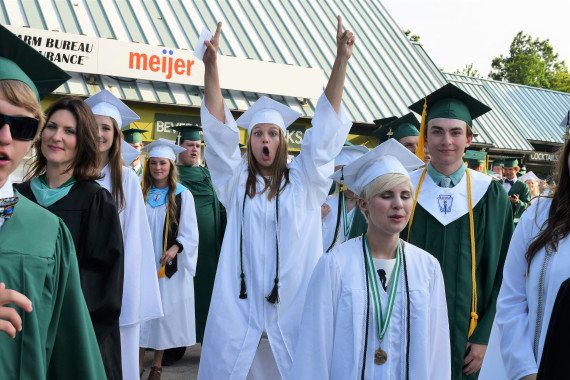 Lake Orion High School Class of 2017 Commencement Ceremonies  June 14
