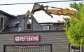Demolition begins on Lake Orion Pet Centre