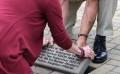 Former Twp. Supervisor Bill Haydel gets commemorative stone at Vets Memorial