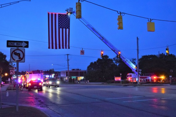 Orion remembers, commemorates 9/11 during ceremony at Veterans Memorial