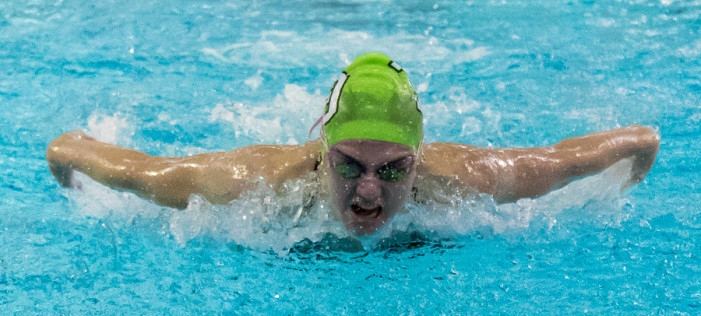 Lady Dragon Varsity Swim & Dive shines in relay's & individual races