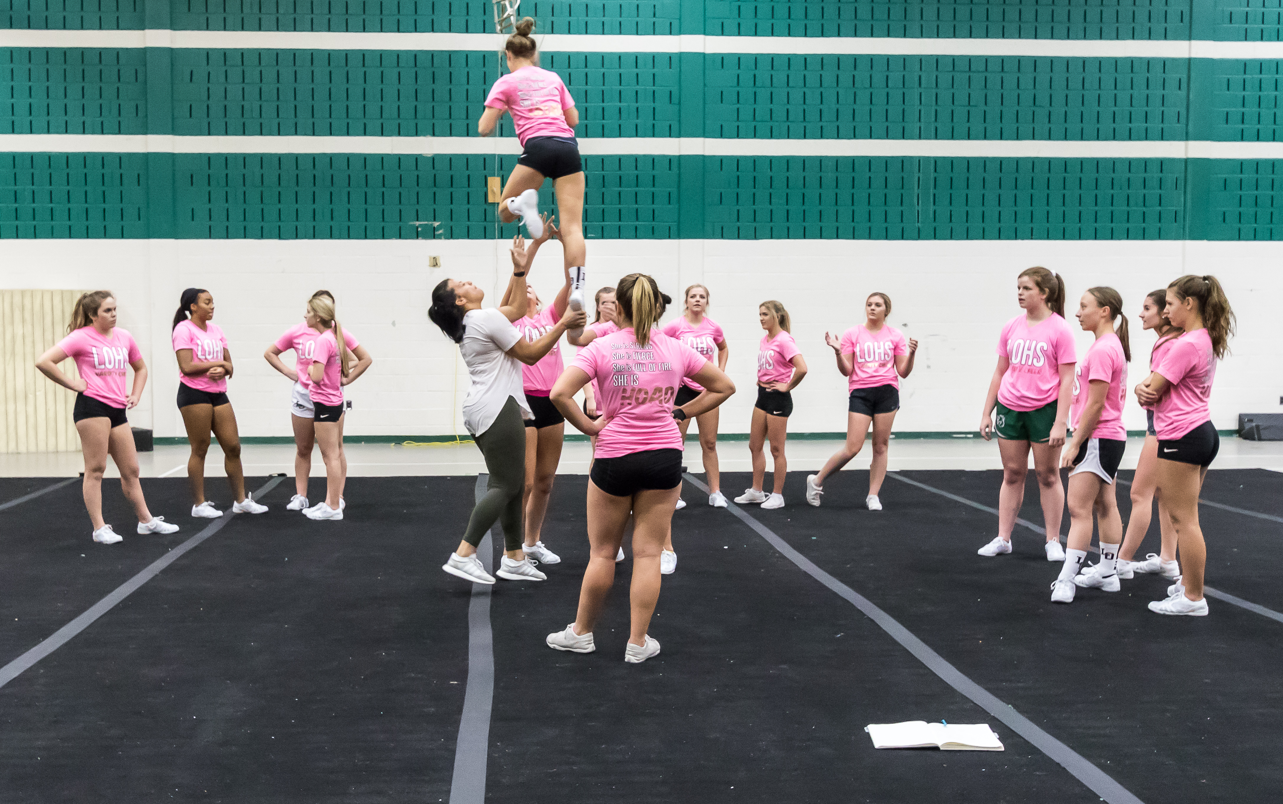 Competitive Cheer with Coach