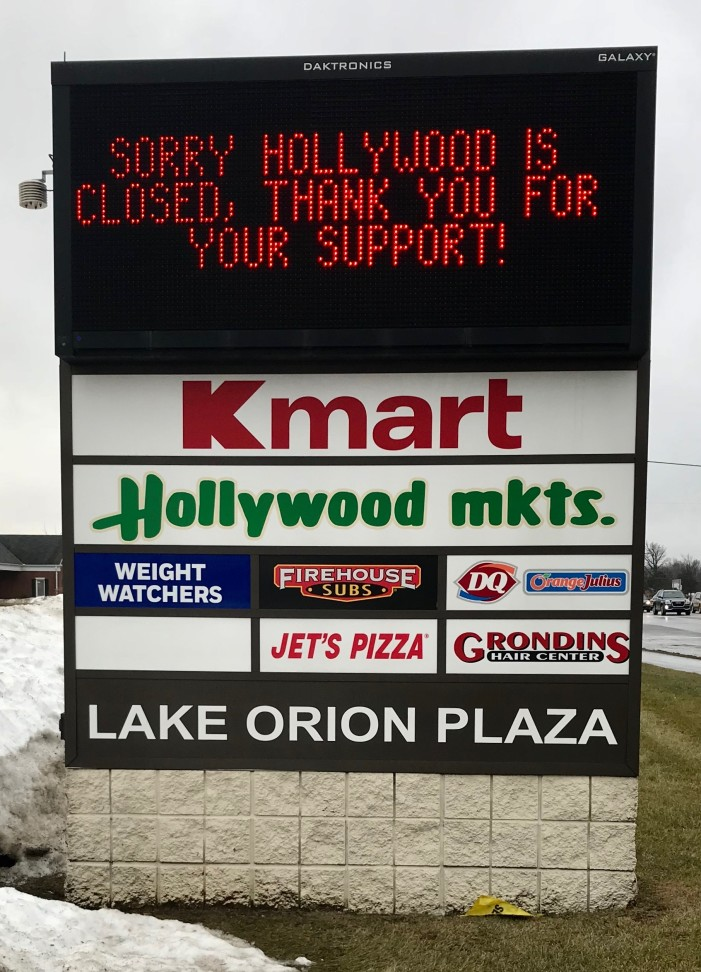 Hollywood mkts. in Orion Township closes amidst angst from community