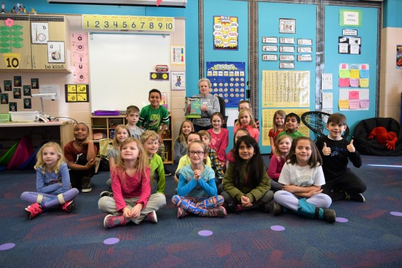 'March is Reading Month' in Lake Orion schools