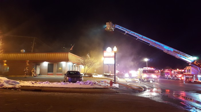 Wendy's on M-24 catches fire, cause determined