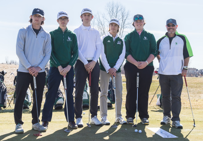 Boy's varsity golf finishes 8th at state finals