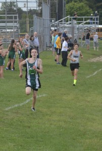 Junior Andrew Nolan winning OAA Jamboree I race. Photos by Stan Ford.