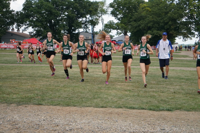 Lake Orion Girls Cross Country team off to a good start