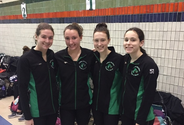 Lake Orion girls Swim and Dive place 17th, swim personal best times at state meet