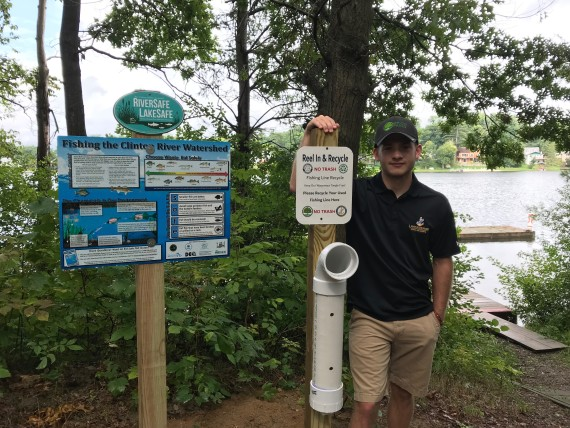 Going fishing? Lake Orion's DePauw wants fishing enthusiasts to recycle their lines, please