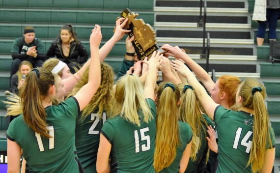 REGIONAL CHAMPS! Dragons roast Cougars in regional finals, move on to state quarterfinals on Tues.