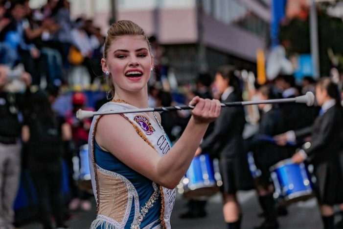 Lake Orion twirler chases big dreams to Peru