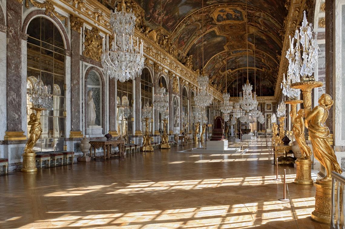Chateau de Versailles – Galerie des Glaces