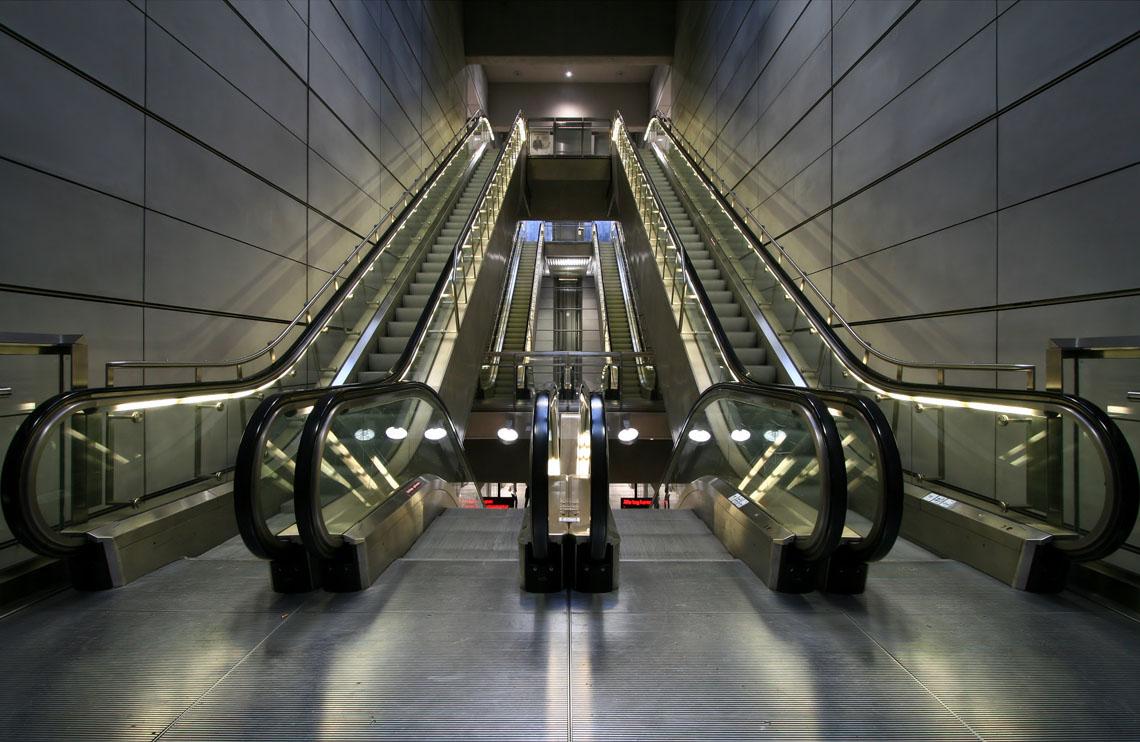 Copenhagen_Metro_escalators