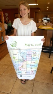 LOHS sophomore Madeline Braley has a great 'green' plan.