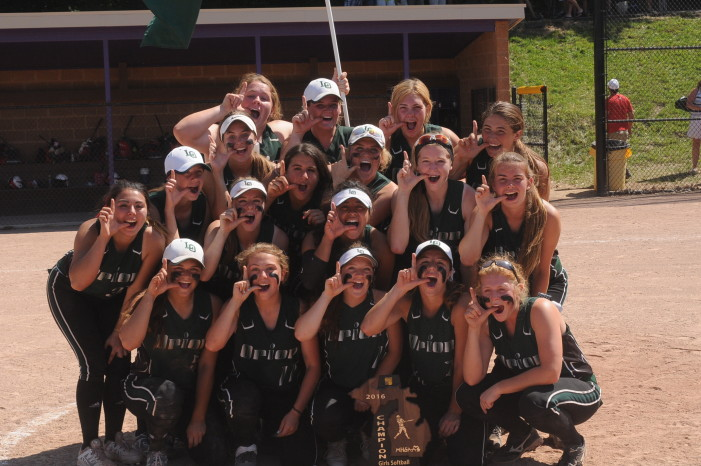 Varsity softball team wins regional title