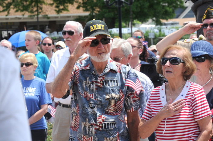 Veterans commemorated during Memorial Day ceremonies