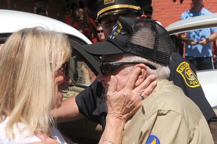 """Honored veteran """"Red"""" McCarrick recognized at Memorial ceremony"""