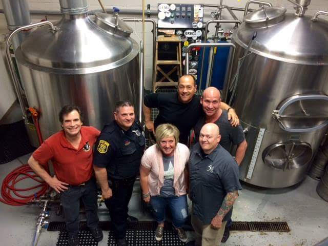 Clergy, Cops and Beer, the name says it all