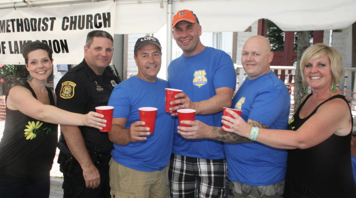 Clergy, Cops, and Beer has successful inaugural event