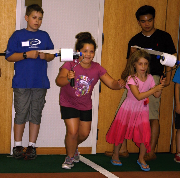 Going for the gold: Library hosts TP Olympics