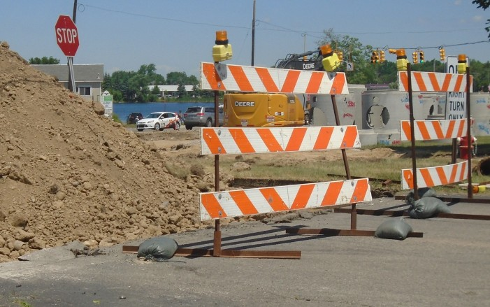 24-hour construction draws mixed emotions