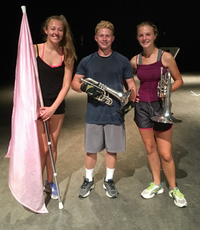 Three selected for Army All-American Marching Band