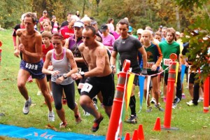 Runners and walkers can participate in the 'Footprints in the Forest' race, which benefits a scholarship for students who want to become teachers.