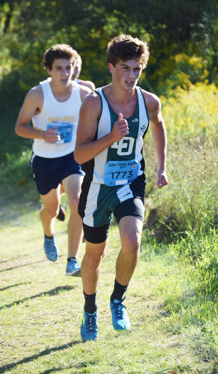 Boys cross country is running strong, looking to step it up