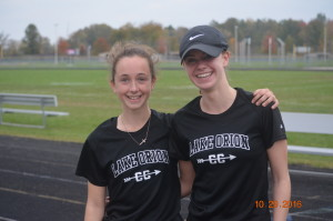 Emily Leipold and Allison Sherman.