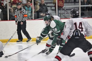 The Lake Orion Hockey team has jumped out to a great start, with a 6-1 record. Photo by Shane Stockwell.
