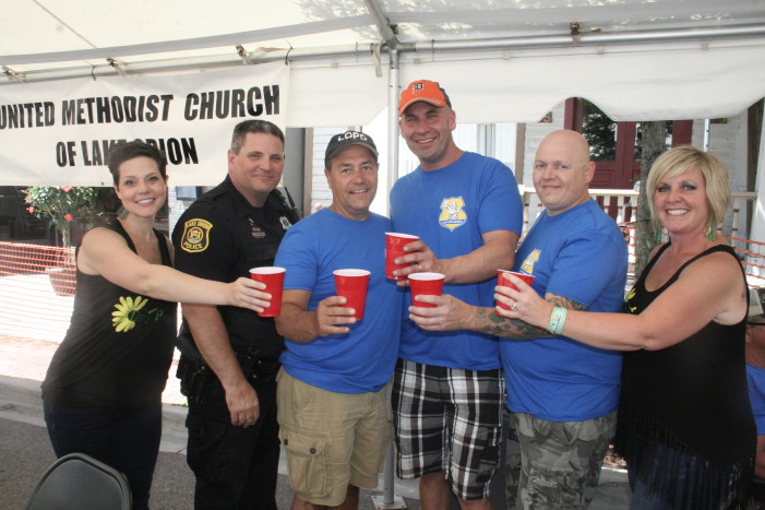 It's time for 'Clergy, Cops and Beer'.5