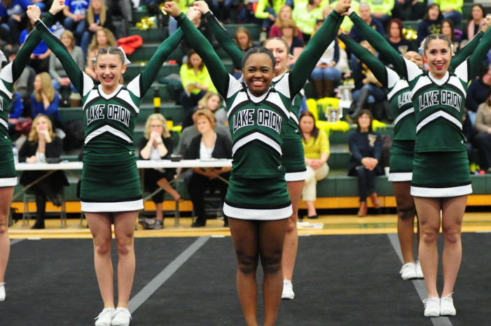 2017 Lake Orion Competitive Cheer